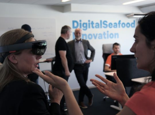 From the Maritech opening of the Digital Seafood Innovation Lab.